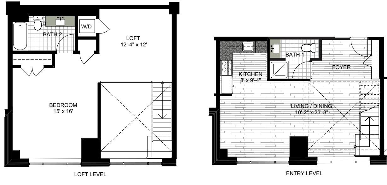 1 Bedroom RR