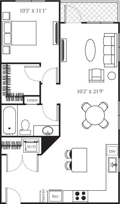One Bedroom O