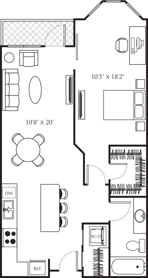 One Bedroom Q