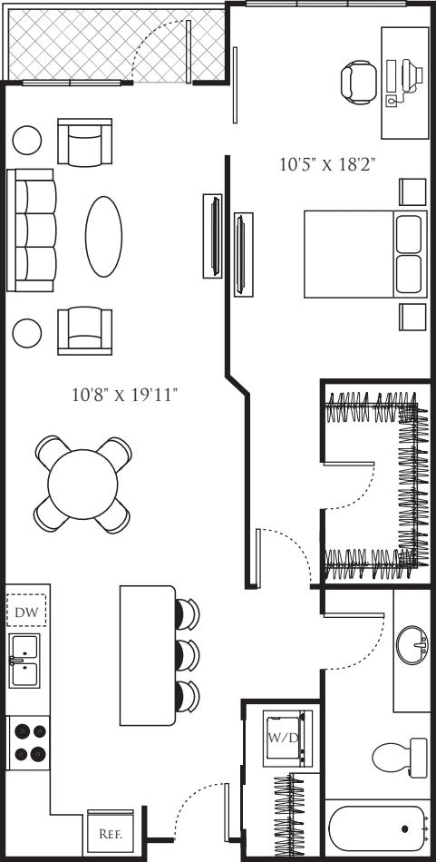 One Bedroom T