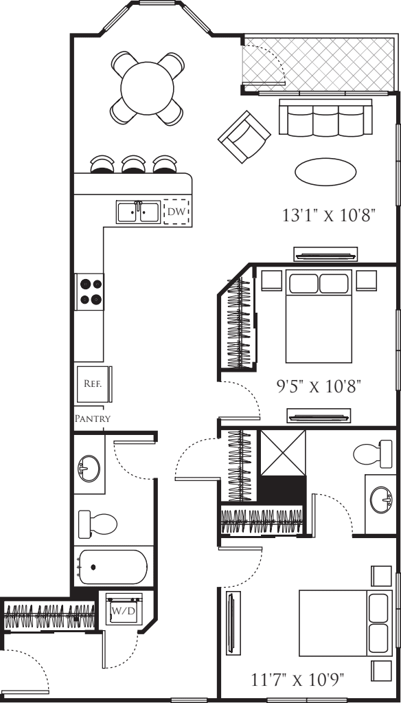 Two Bedroom H