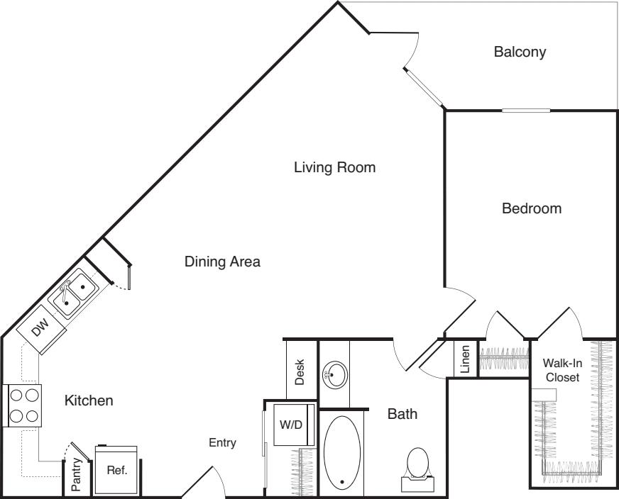 One Bedroom - N
