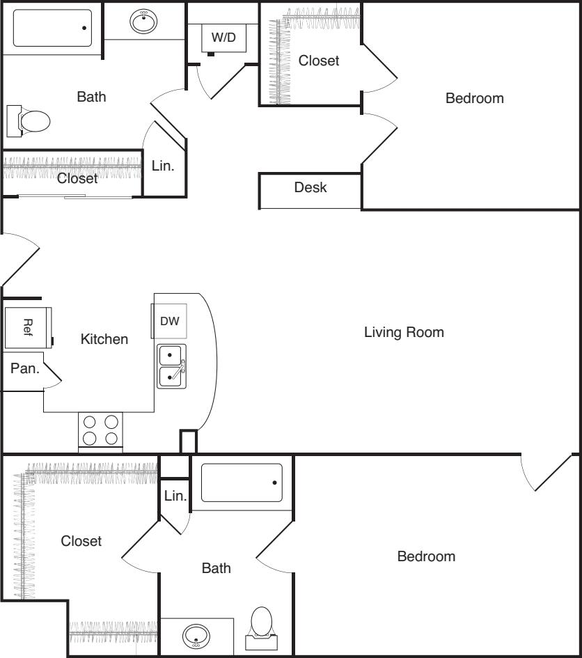 Two Bedroom - B
