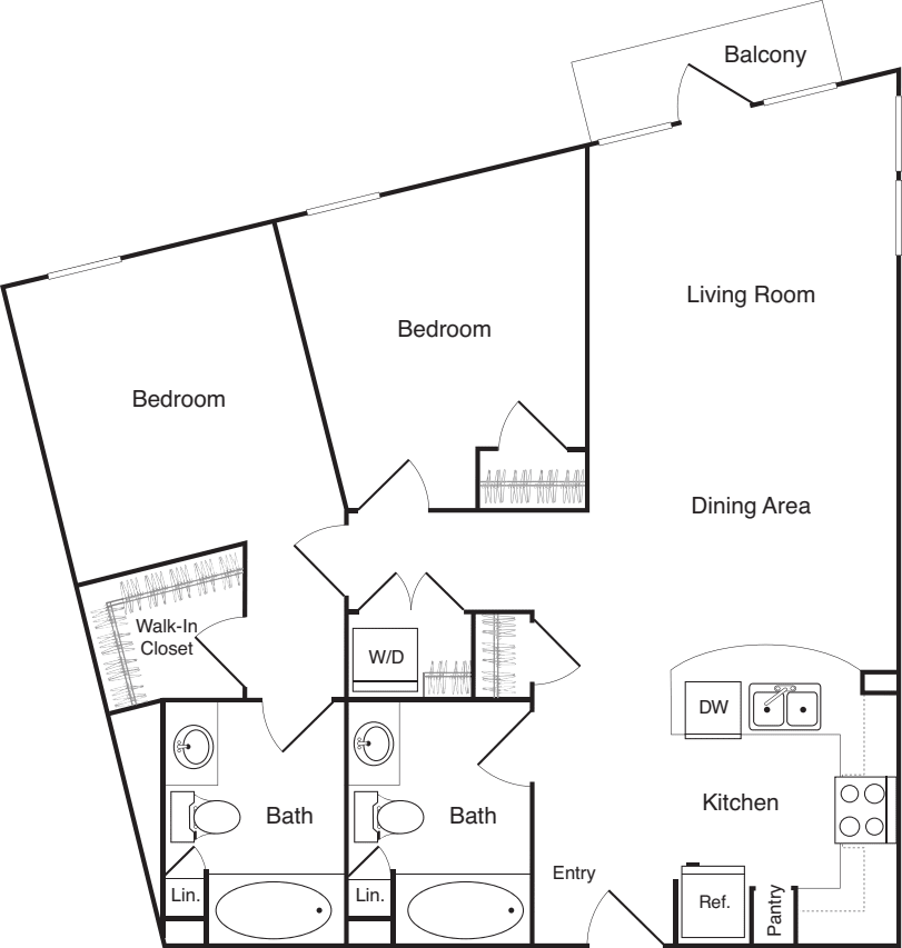 Two Bedroom - F