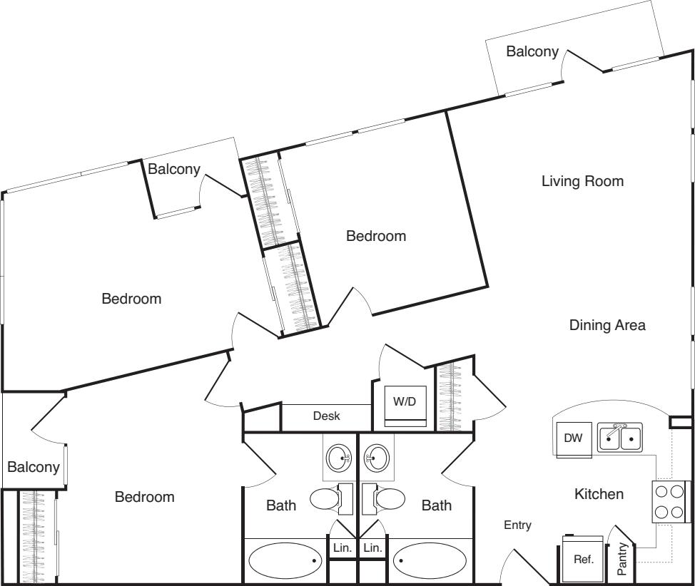 Three Bedroom - D