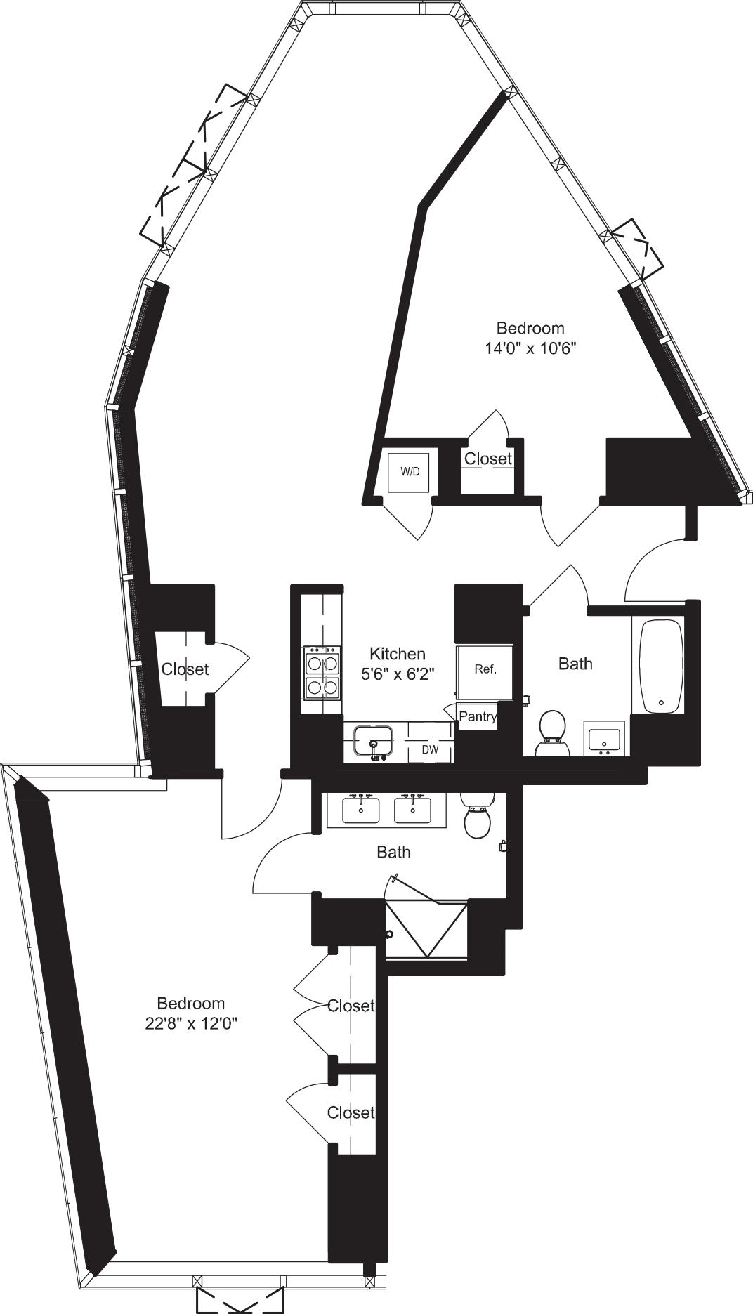 Two Bedroom K 12-19
