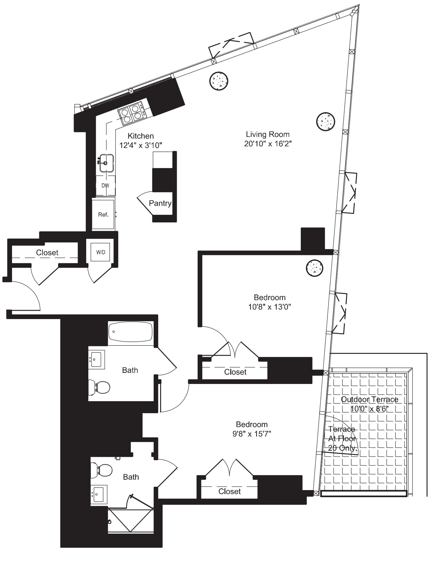 Two Bedroom F 20