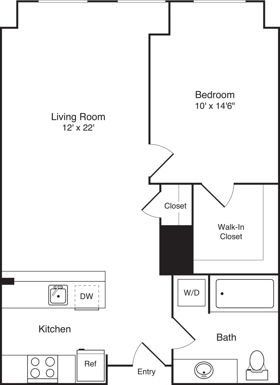 1 Bedroom I