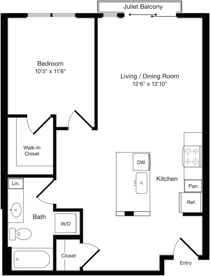 A2 West- Floors 3-6