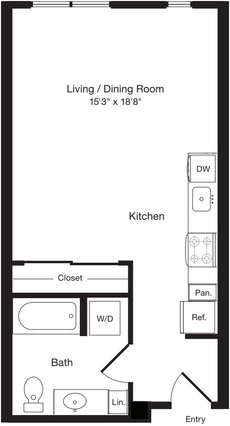 S1 East- Floors 3-6