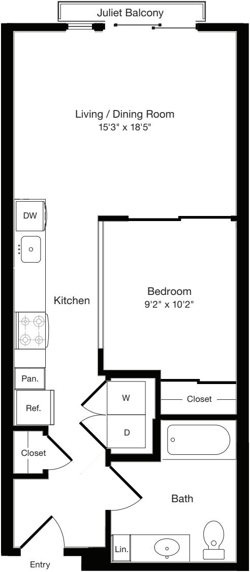 O2d East- Floors 3-6