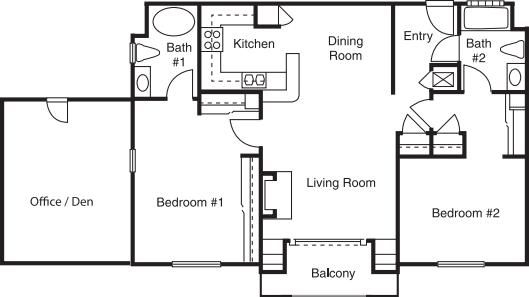 Two Bedroom B Alt