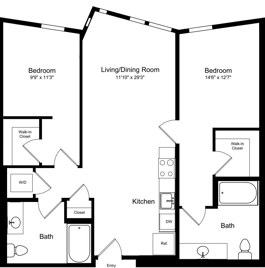 2 Bedroom A7