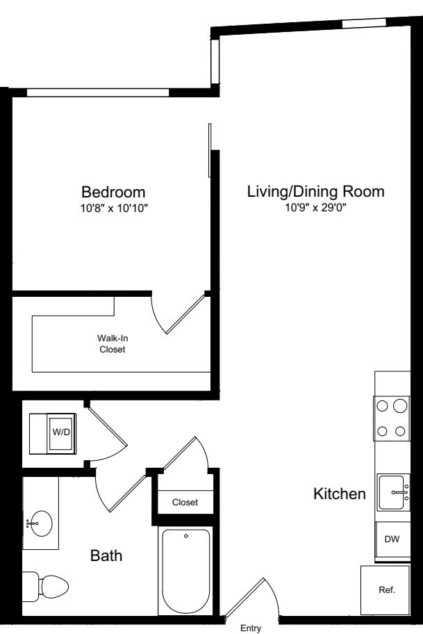 1 Bedroom G-2