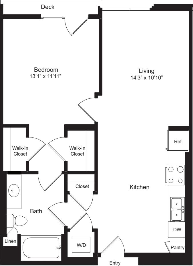 One Bedroom J