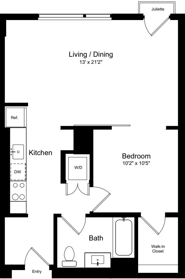1 Bedroom GJ