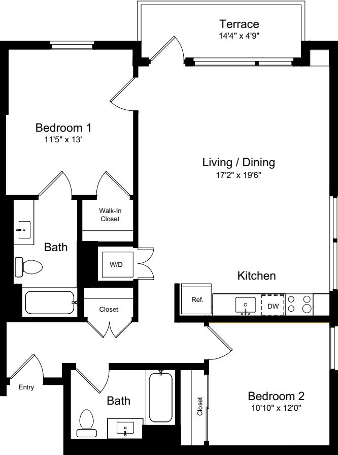 2 Bedroom ET