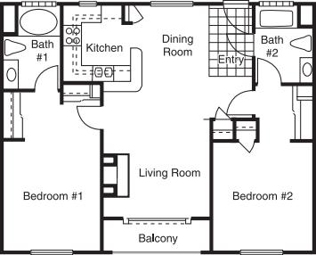 Barrington Ave - 2 Bed