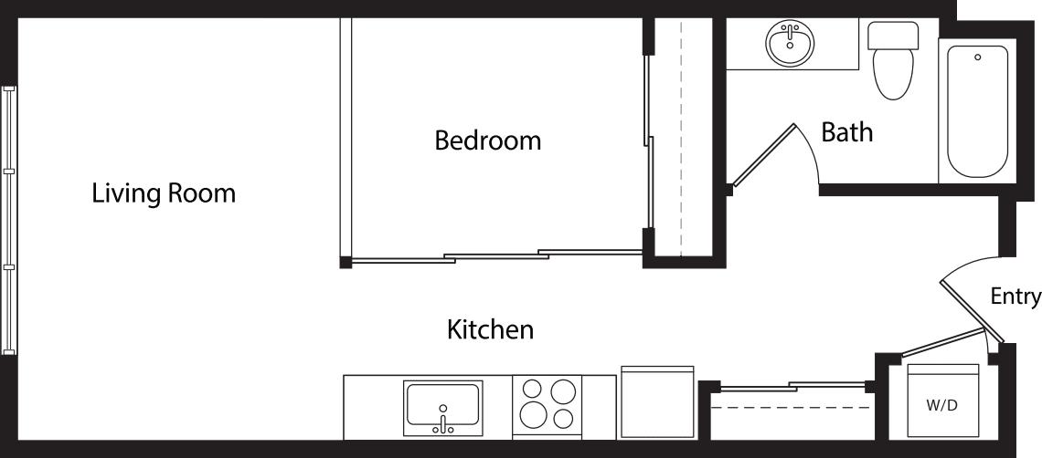 Urban One Bedroom B