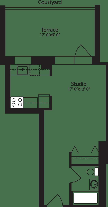 Plan D, floor 3