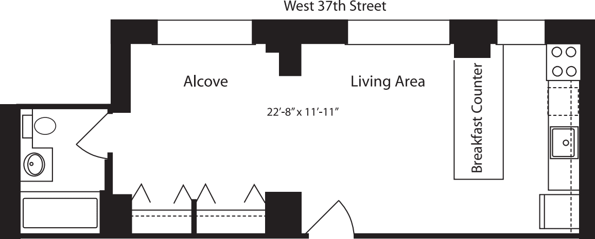 Plan R, floor 15