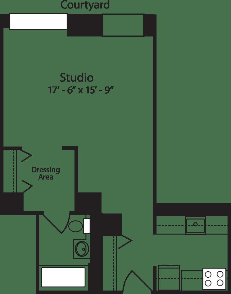 Plan B, floors 4-15