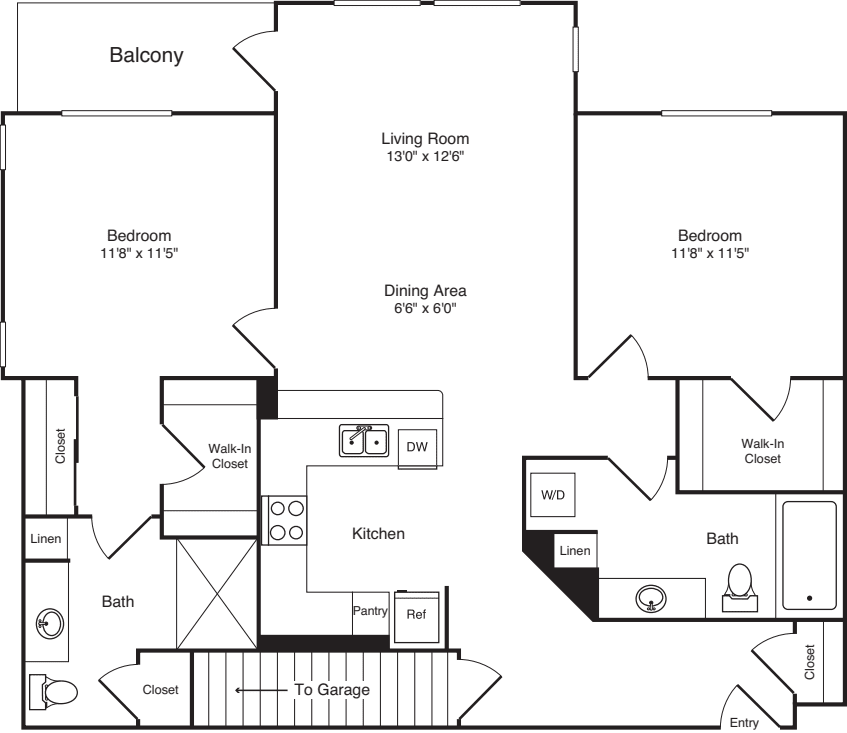 Two Bed B-5 - Phase III
