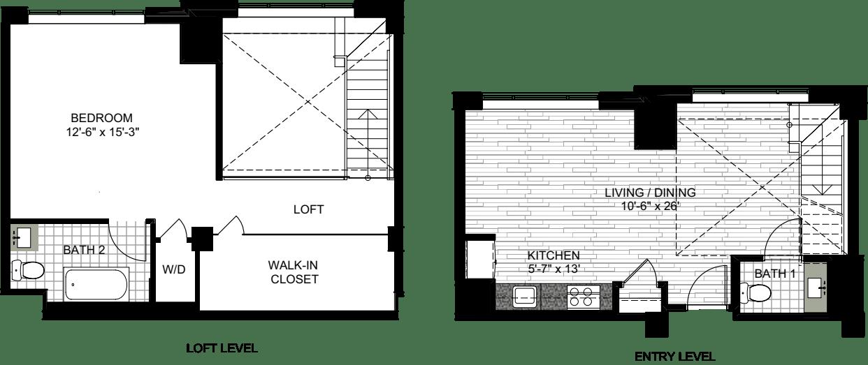1 Bedroom YYY