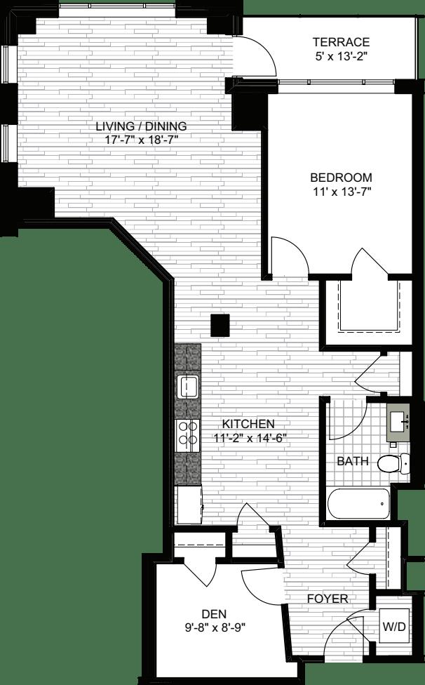 1 Bedroom MM