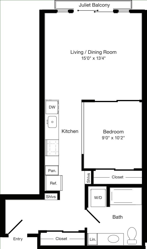 O1 East- Floors 3-6