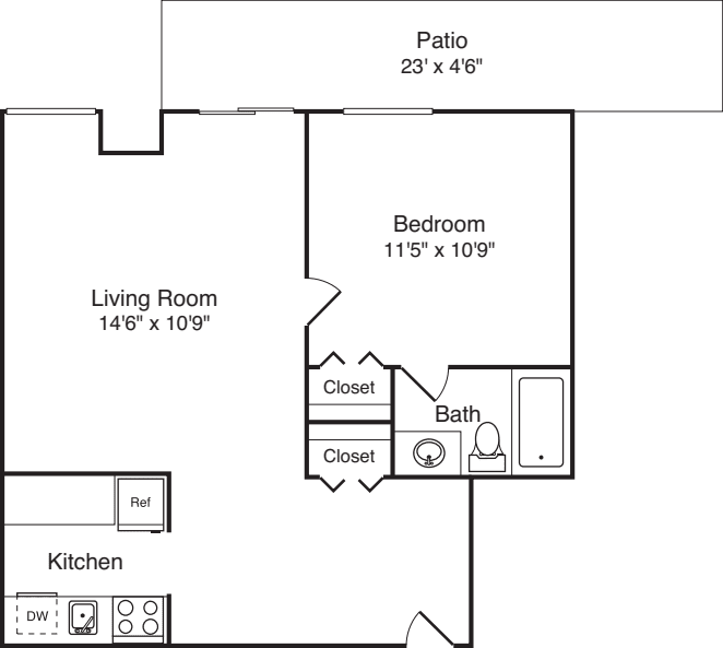 Plan 31 with Patio