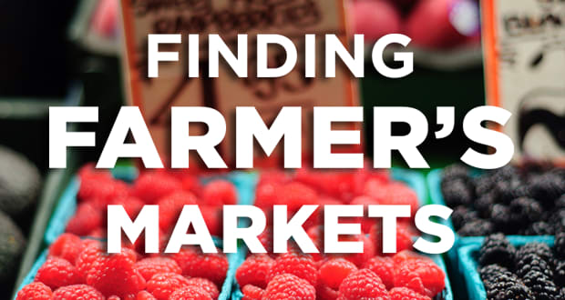 Finding Farmers Markets
