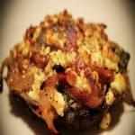 Stuffed Field Mushroom - God Save the Quisine Food Truck