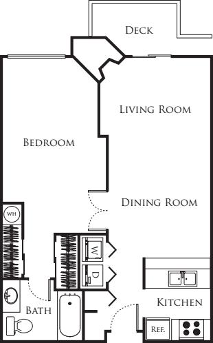 One Bedroom/One Bath