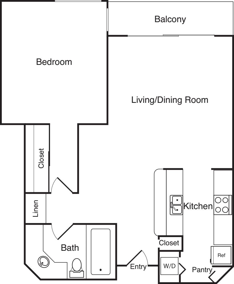 Versailles Apartments: Versailles Apartments
