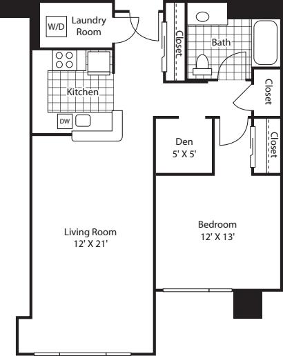 One Bedroom 903
