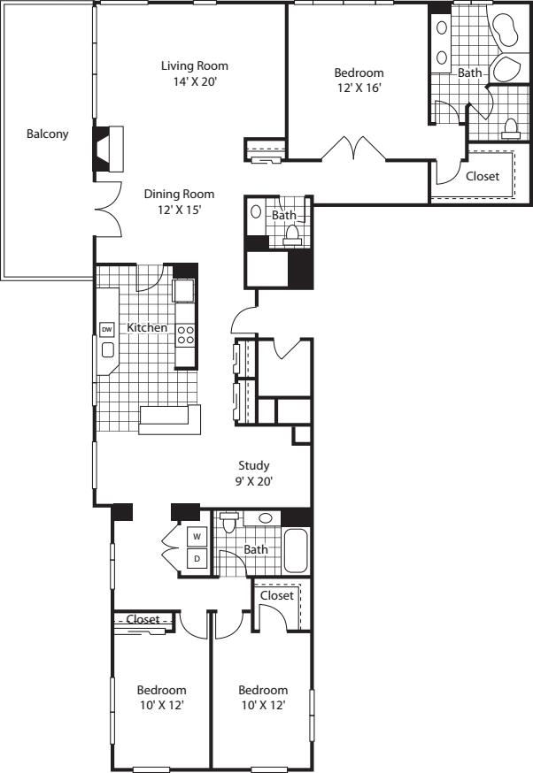 Three Bedroom 2145