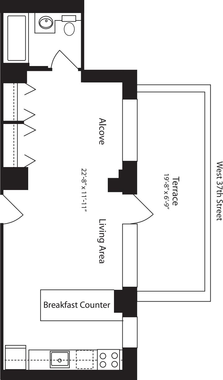 Plan R, floor 14