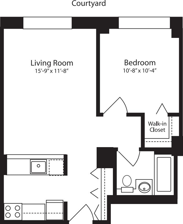 Plan Y, floor 4-10