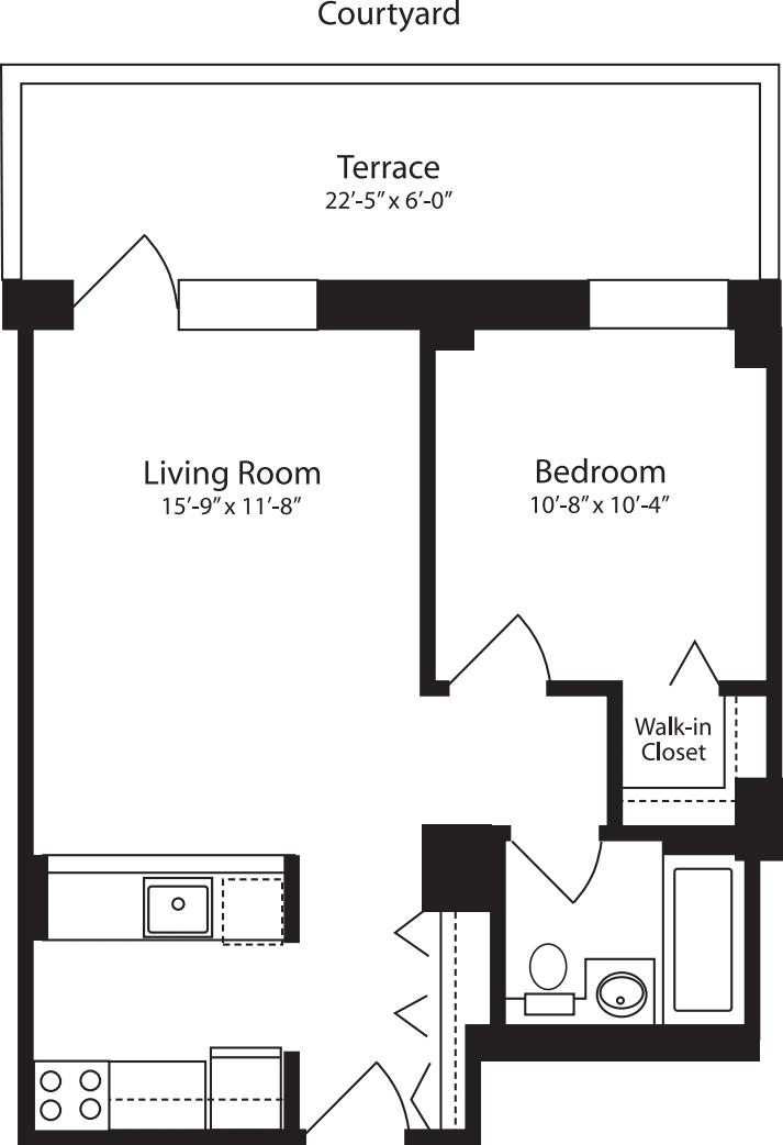 Plan Y, floor 3
