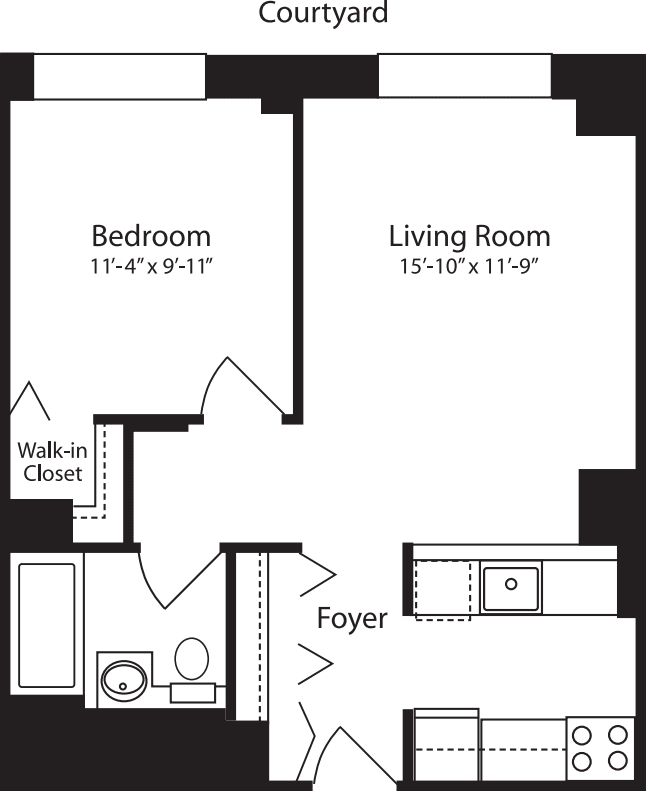 Plan Z, floors 4-10