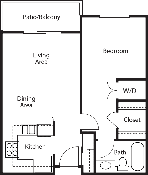 One-Bedroom / One-Bath