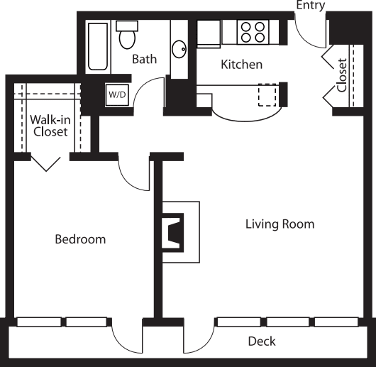 Penthouse 1 Bedroom