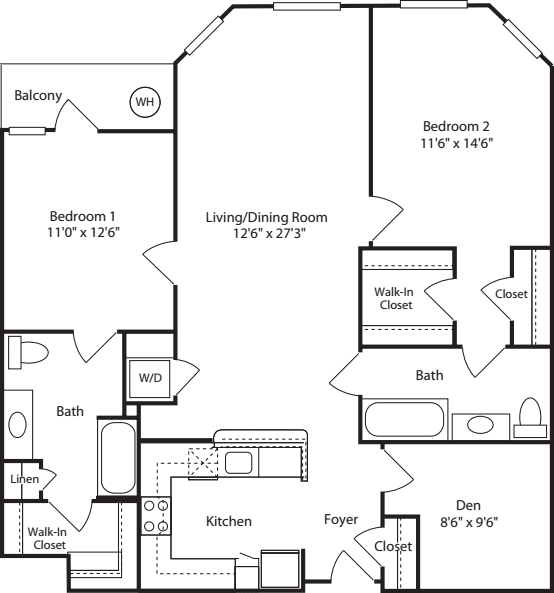 M Street Apartments: 2400 M Apartments