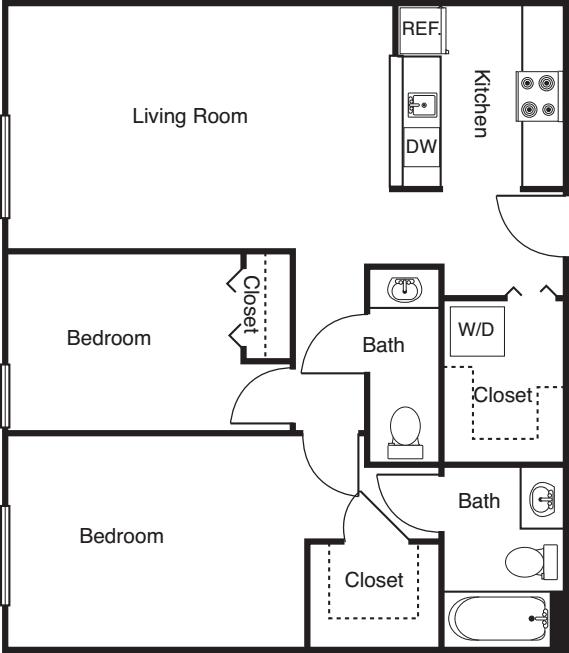 2 Bedroom -904