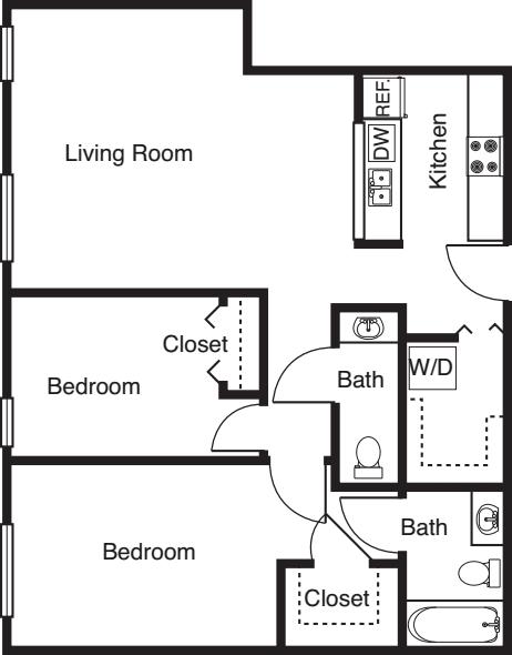2 Bedroom -954