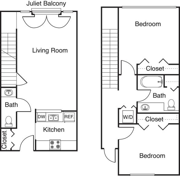 2 Bedroom -1025