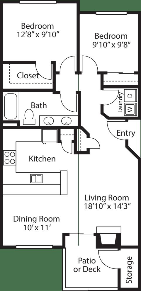 One Bedroom Apartments Lynnwood
