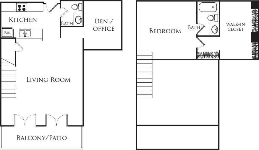 One Bedroom Loft 359