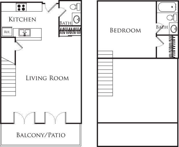One Bedroom Loft